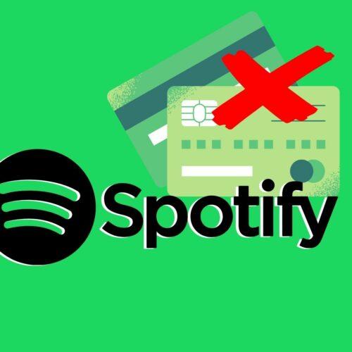 Как отвязать карту от Spotify